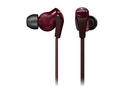 Sony MDR XB30EX/RED - headphones - In-ear, Binaural - Red