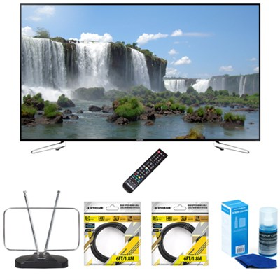 75-Inch Full HD 1080p 120hz Slim Smart LED HDTV w/ Accessories Bundle