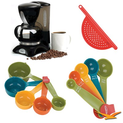 Elite Cuisine 4-Cup Coffee Maker with Pause and Serve Bundle