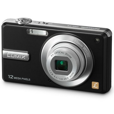 DMC-F3K LUMIX 12.1 Megapixel Digital Camera (Black) - OPEN BOX