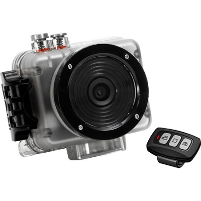NOVA HD Waterproof 1080p POV Action Video Camera with RF Remote