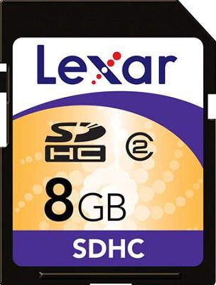 SDHC 8 GB Flash Memory Card LSD8GBASBNA