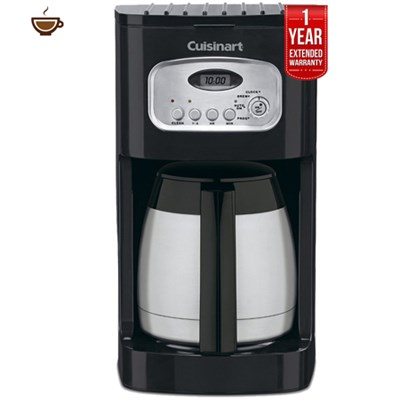 10-Cup Programmable Thermal Coffeemaker + 1 Year Extended Warranty -Refurbished