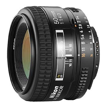 50mm F/1.4D AF Nikkor Lens - REFURBISHED