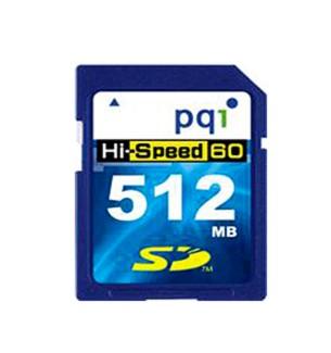 512MB 60X Super-High-Speed Secure Digital Memory Card