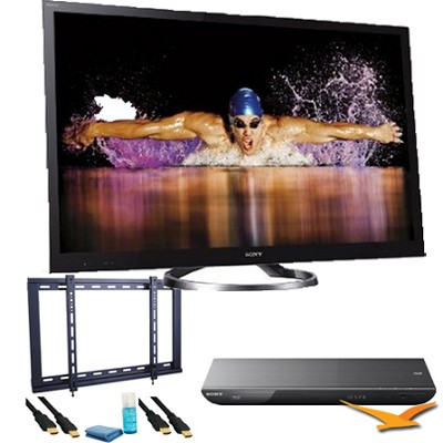 XBR65HX950 65 inch 240HZ 1080p 3D Internet Full-Array LED BUNDLE
