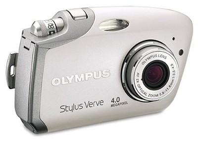 Stylus Verve Digital Camera (WHITE)