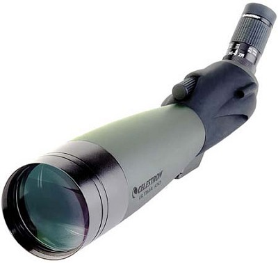 Ultima 100 Spotting Scope with 22-66x Zoom Eyepiece - 45 degree Angle - OPEN BOX
