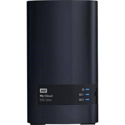 0TB My Cloud EX2 Ultra 2bay