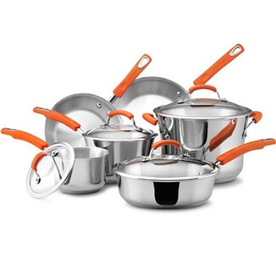 Stainless Steel II 10-Piece Cookware Set