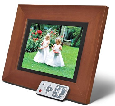 8.4-inch Digital Picture Frame (wood)