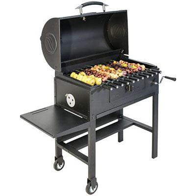 The Grill Kabob Blk Cast Iron