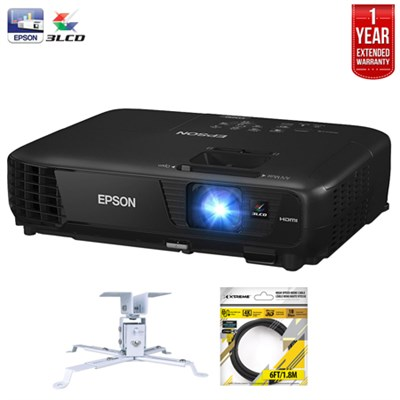 EX5250 Pro Wireless XGA 3LCD Projector + Refurbished Extended Warranty Pack