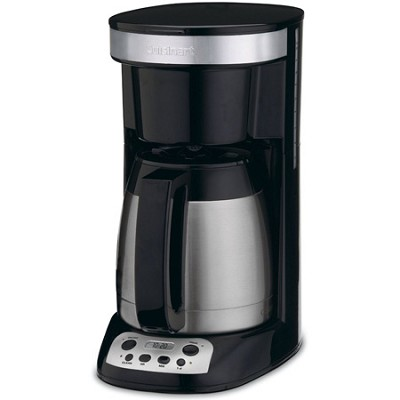 Compact Programmable Coffee Maker 10-Cup Thermal Carafe - REFURBISHED