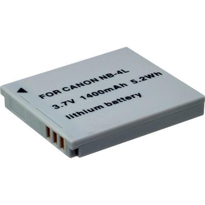 NB-4L 900mAh Lithium Battery Powershot ELPH 310, SE330, SD780 , SD960 , SD1000