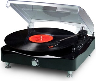 Mini Turntable Vinyl Writer with speaker