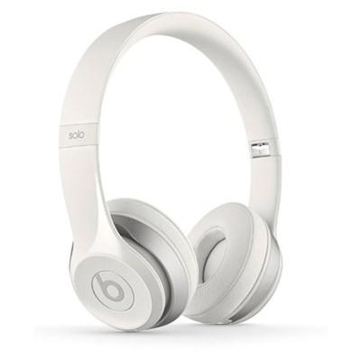 Dr. Dre Solo2 Wireless On-Ear Headphones (White) - OPEN BOX