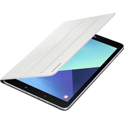 Galaxy Tab S3 9.7` Tablet Book Cover - White - OPEN BOX