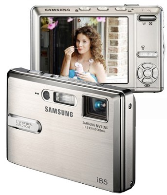 i85 Digital Camera, PMP and MP3 Player (Silver)
