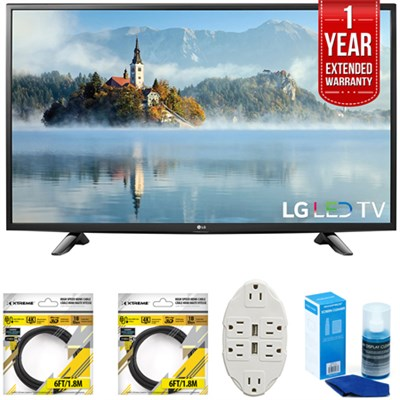 49` 1080p Full HD LED TV 2017 Model 49LJ5100 with Extended Warranty Kit