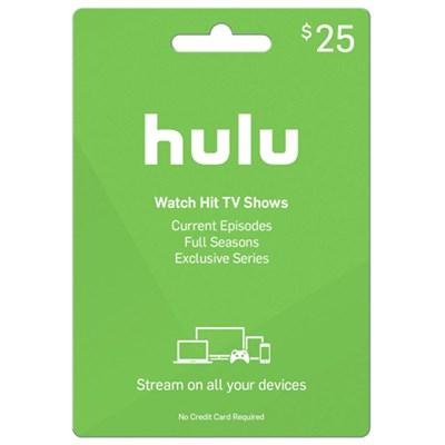 $25 Hulu PLUS Gift Card