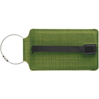 T-Tech Sliding Luggage Tag, Green
