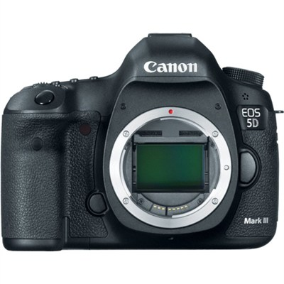 EOS 5D Mark III 22.3 MP Full Frame CMOS Digital SLR Camera (Body) - OPEN BOX