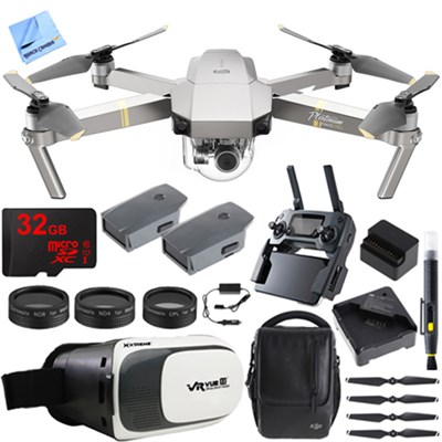 Mavic Pro Quadcopter Drone w/ Camera & Wi-Fi +Virtual Reality Experience Kit