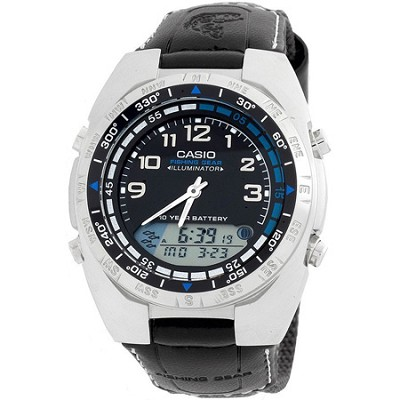 Men's AMW700B-1AV Ana-Digi Forester Fishing Timer Watch
