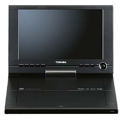 SD-P101S Portable DVD Player w/ 10.2` LCD Swivel Display