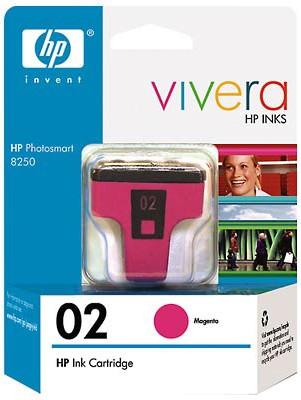 HP 02 Magenta Ink Print Cartridge