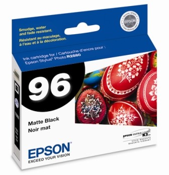 Matte Black Ink Cartridge for Epson Stylus R2880