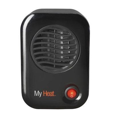 My Heat Personal Heater Black