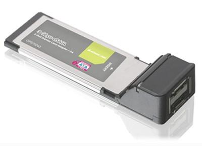 2-Port eSATA 3Gbps ExpressCard/34 - GPS702e3
