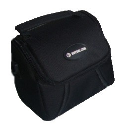 Compact Fit Design Deluxe Gadget Bag for Cameras/Camcorders (Black) DP38-BDG