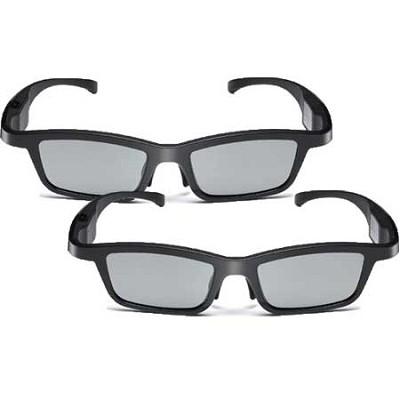 AG-S350 Active-Dynamic Shutter 3D Glasses 2-Pack