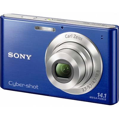 Cyber-shot DSC-W330 14MP Blue Digital Camera