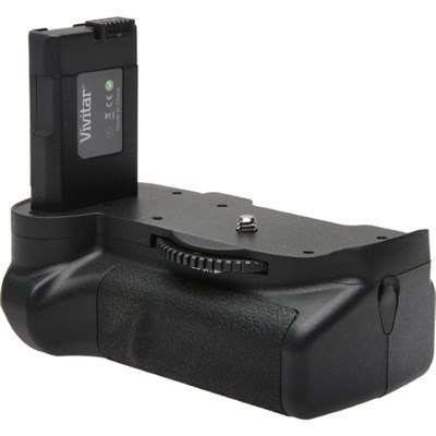 Deluxe Power Battery Grip for Nikon D5500 Camera