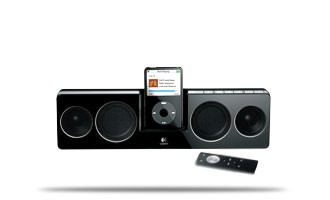 Pure-Fi Anywhere Speakers for iPod (black)