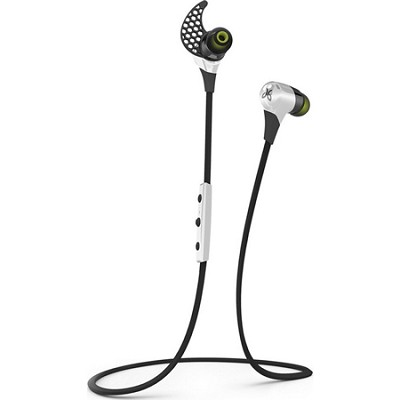BlueBuds X Sport Bluetooth Headphones - Storm White