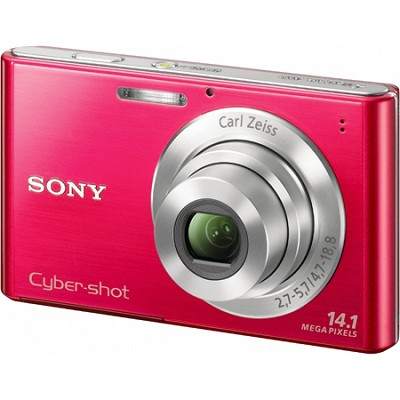 Cyber-shot DSC-W330 14MP Red Digital Camera