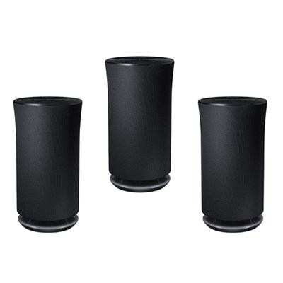 3-Pack Radiant 360 R3 Wi-Fi Bluetooth Speaker