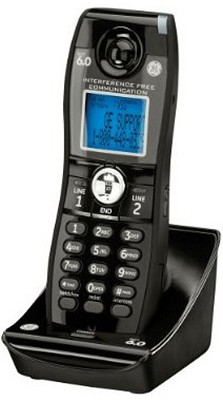 Dect 6.0 Digital Black Cordless Accessory Handset for 28165FE1 Phone