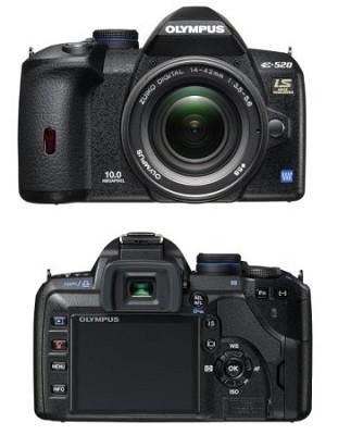 E-520 10.1MP Digital SLR with 14-42mm f3.5-5.6 Zuiko Digital Lens