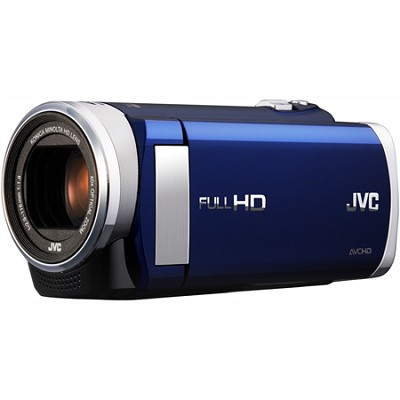 GZ-E200AUS - HD Everio Camcorder f1.8 w/ 40x Zoom & 3.0` Touchscreen (Blue)