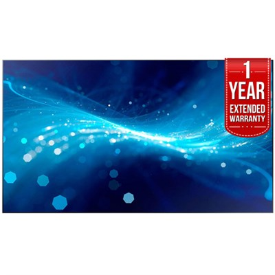 UH46F5 46` Screen LED-Lit Commercial Monitor + 1 Year Extended Warranty
