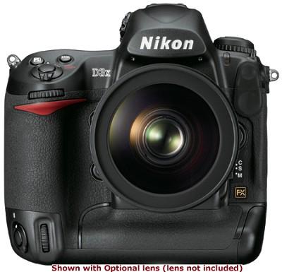 D3X FX-Format DSLR Camera Body