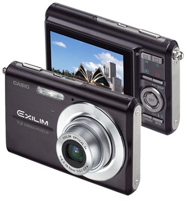 Exilim Z75 7.2 MP wtih 2.6` Wide LCD - Anti-Shake DSP (Black)