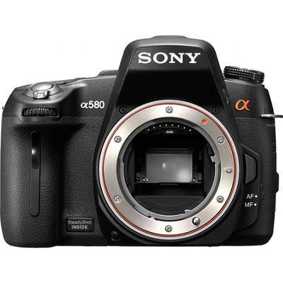 Alpha DSLR-A580 16.2 MP SLR Camera Body w/ 1080i HD Video