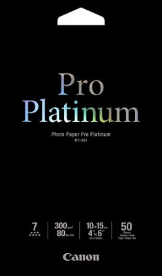 Photo Paper Pro Platinum 4` X 6` - 50 Sheets